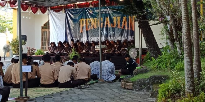 Pengajian Isra' Mi'raj, Songsong Ramadhan dan Khataman SMAN 1 Godean