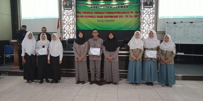 Prestasi SMAN 1 Godean di Lomba Cerdas Cermat Koperasi Kabupaten Sleman