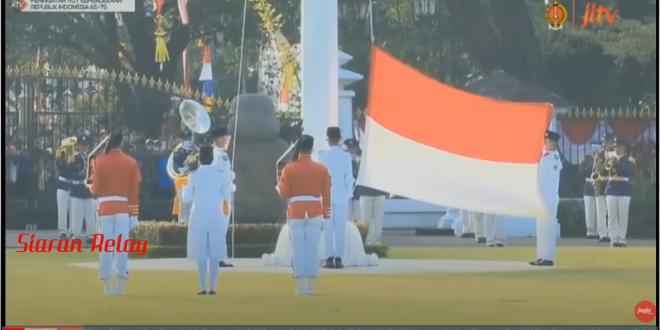 Upacara Bendera Memperingati HUT ke-75 RI Tahun 2020 Secara Virtual